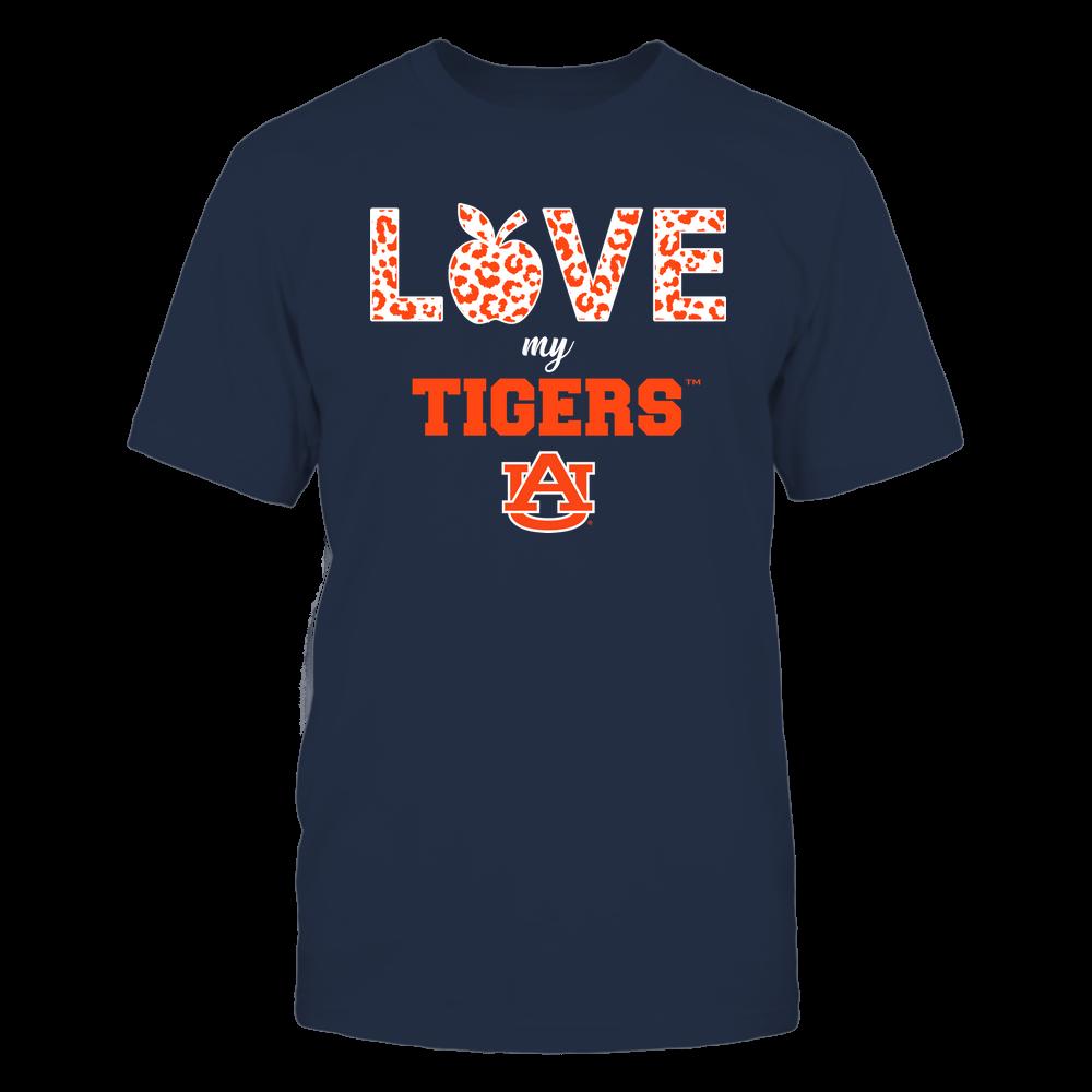 Auburn Tigers - Teacher - Love My Team Front picture