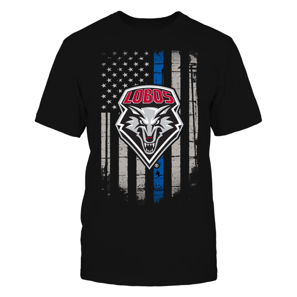 Thin Blue Line - New Mexico Lobos Front picture