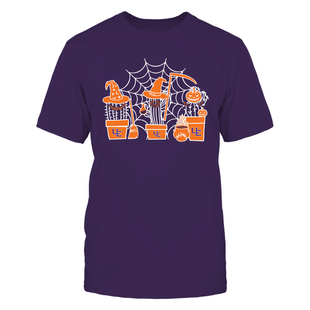 Evansville Purple Aces - Three Pots Of Cactus - Halloween Front picture