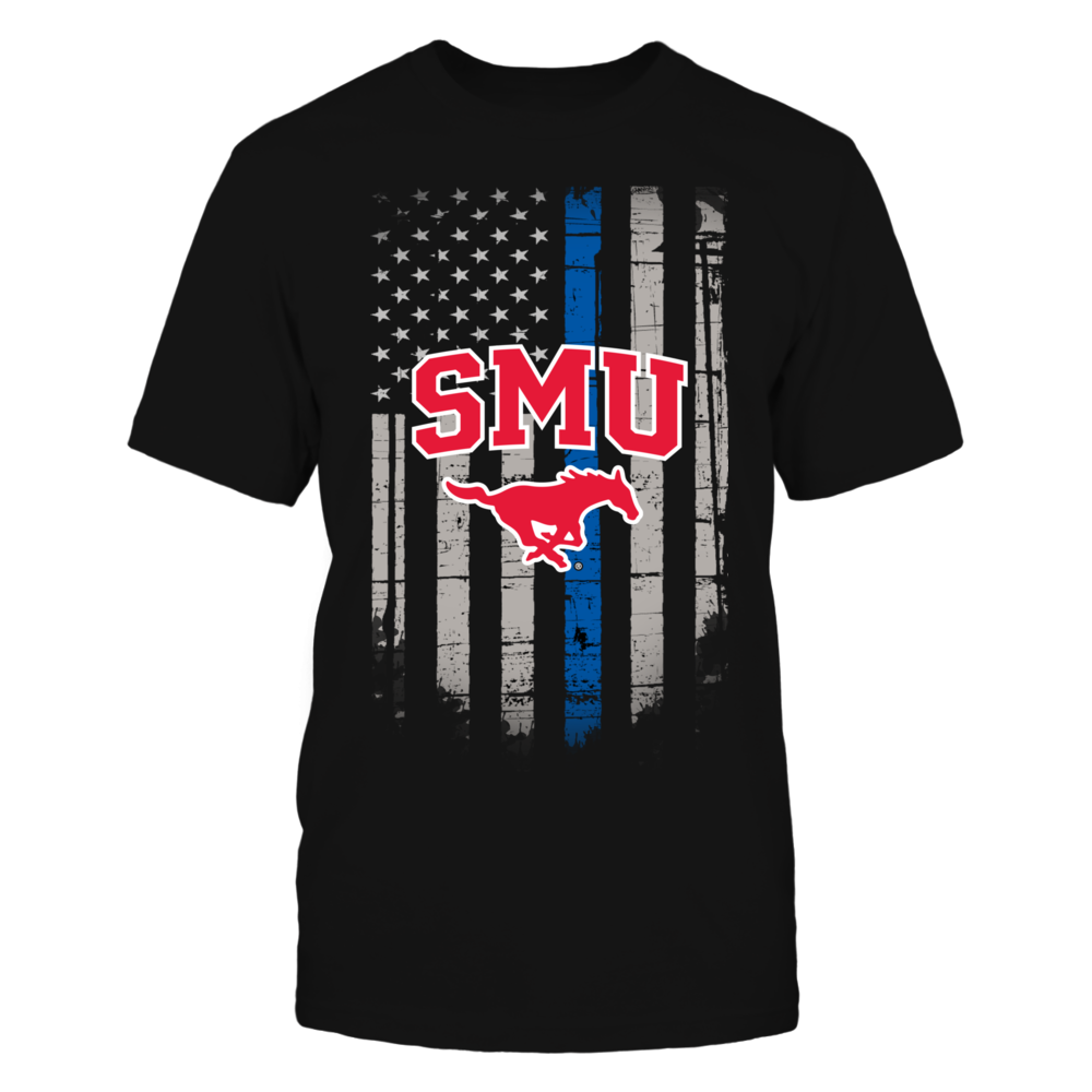 Thin Blue Line - SMU Mustangs Front picture