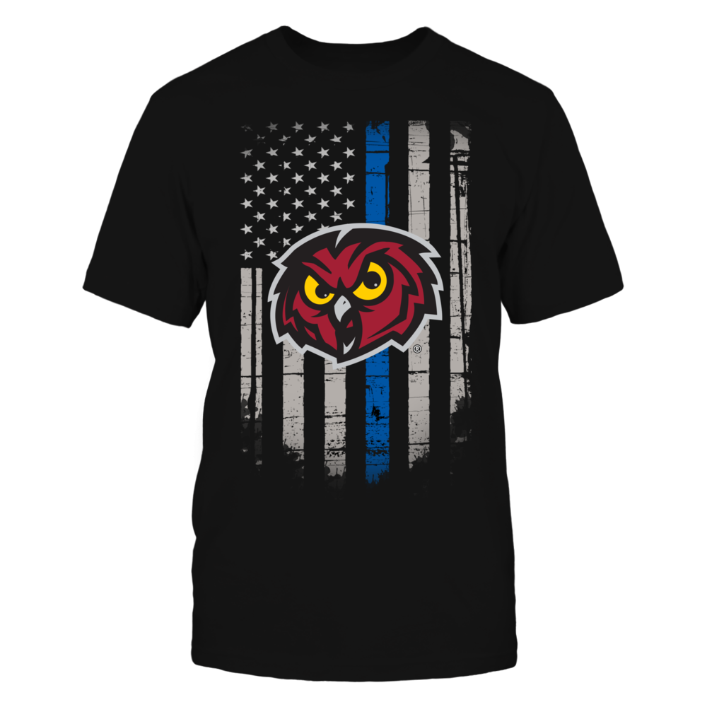 Thin Blue Line - Temple Owls Front picture