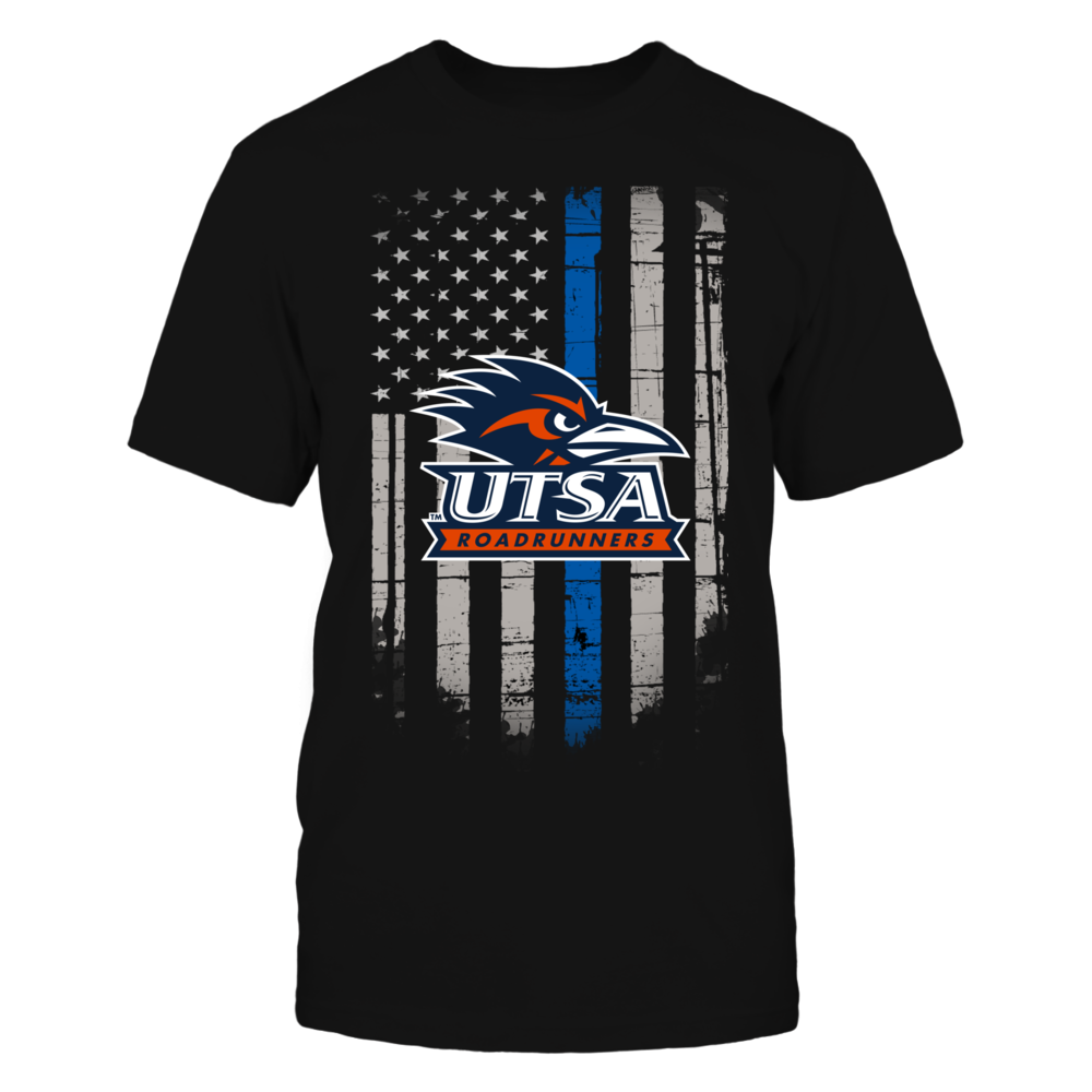 Thin Blue Line - UTSA Roadrunners Front picture