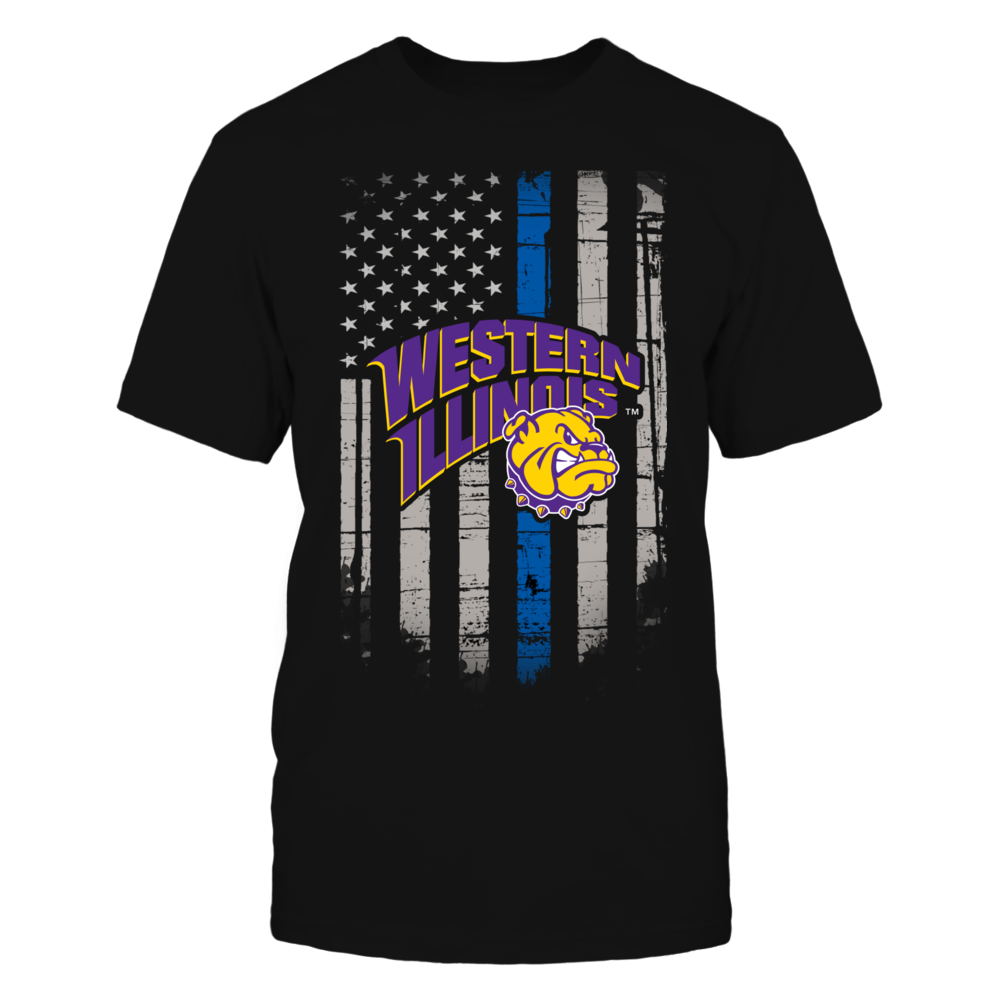 Thin Blue Line - Western Illinois Leathernecks Front picture