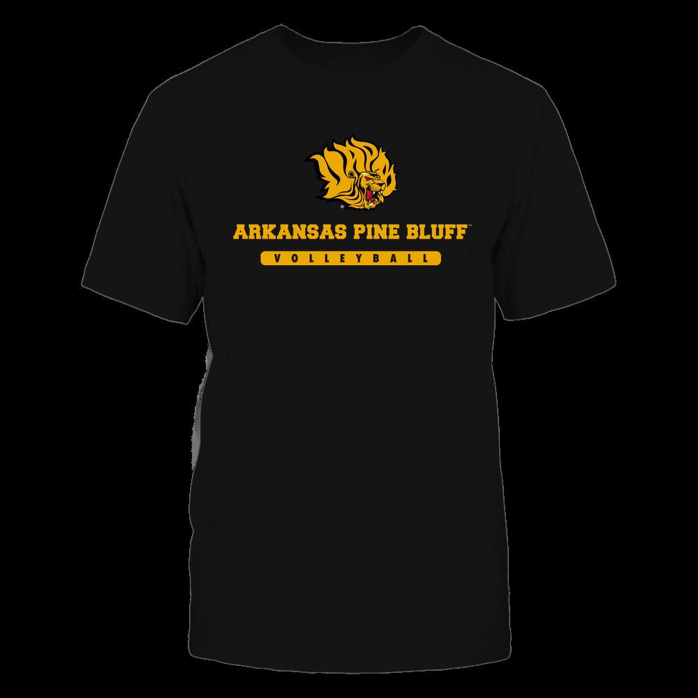 Arkansas Pine Bluff Golden Lions - School - Logo - Volleyball Front picture