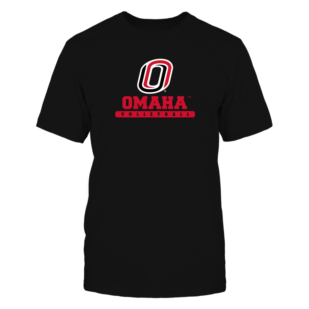 Nebraska Omaha Mavericks - School - Logo - Volleyball Front picture
