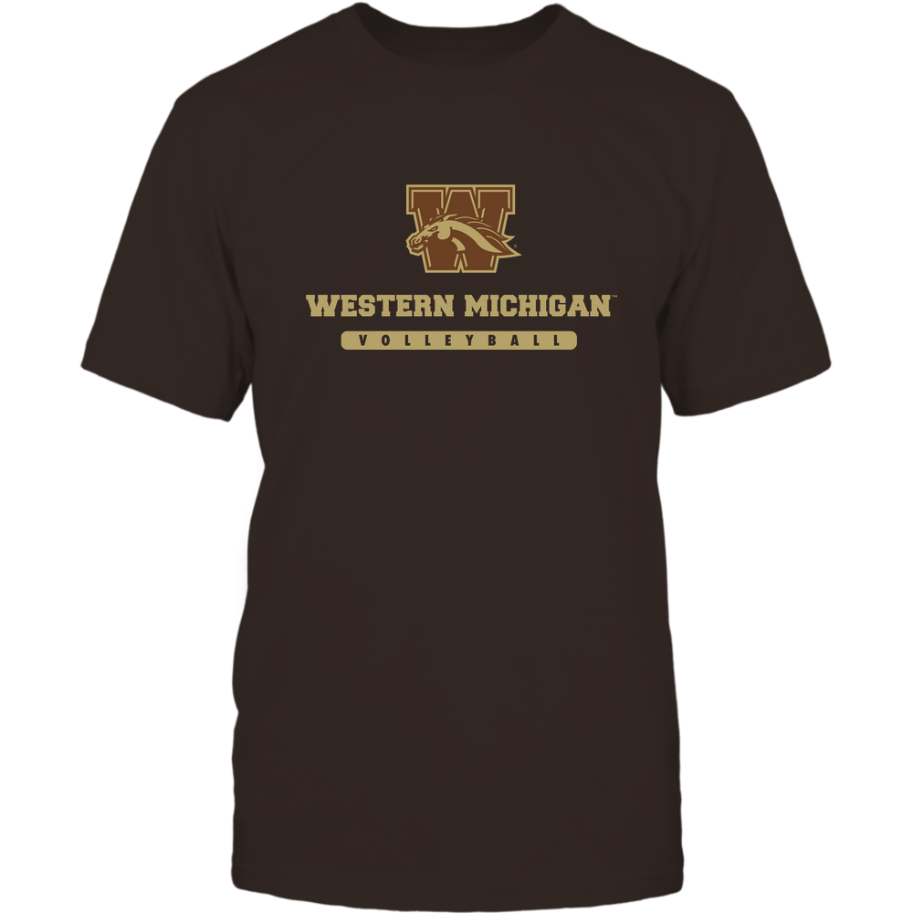 Western Michigan Broncos - School - Logo - Volleyball Front picture