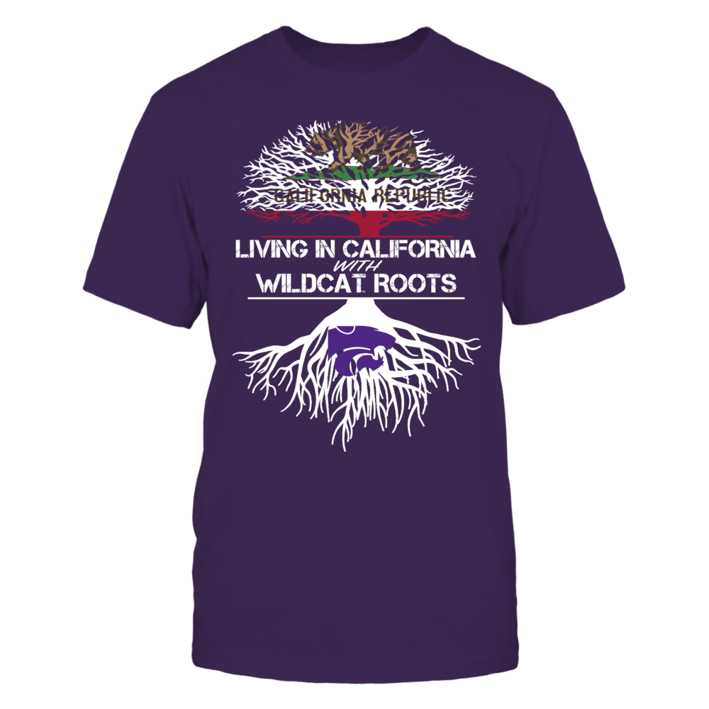 Kansas State Wildcats - Living Roots California Front picture