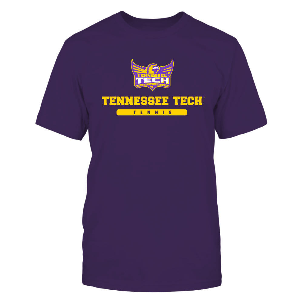 Tennessee Tech Golden Eagles - School - Logo - Tennis Front picture