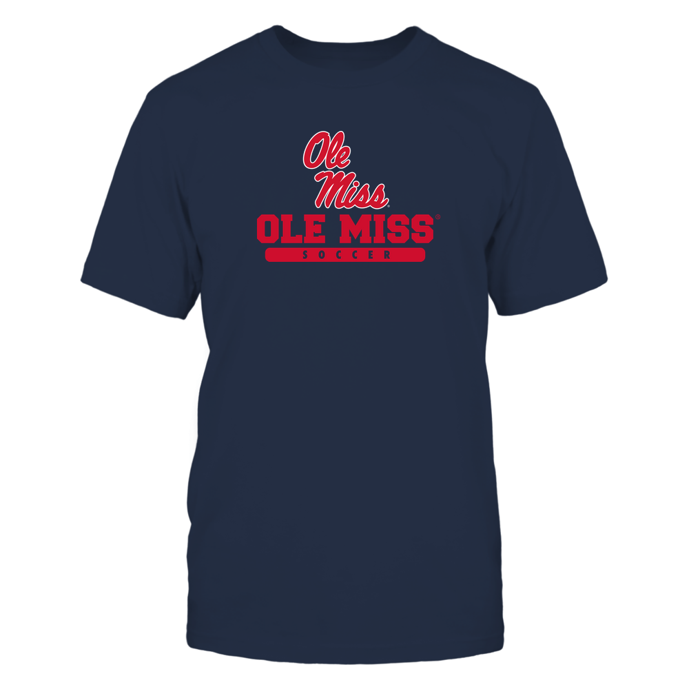 Ole Miss Rebels - School - Logo - Soccer Front picture