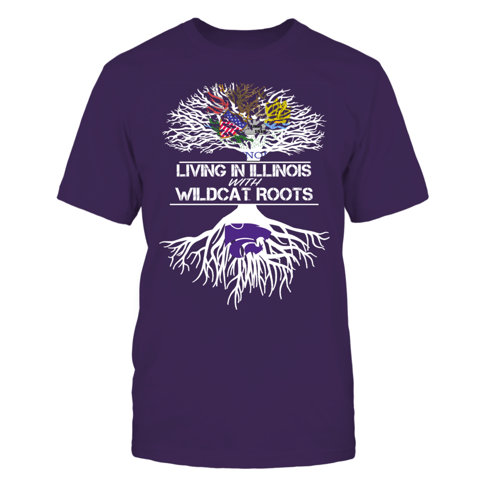 Kansas State Wildcats - Living Roots Illinois Front picture