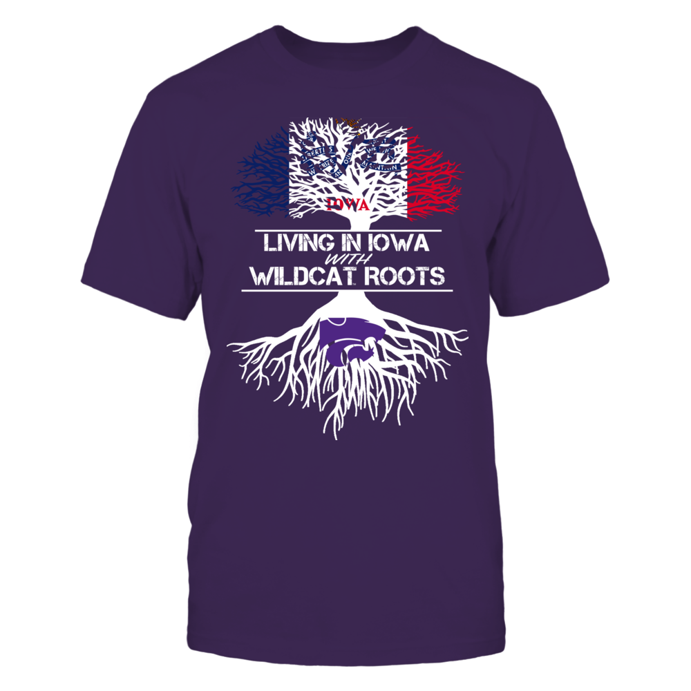 Kansas State Wildcats - Living Roots Iowa Front picture