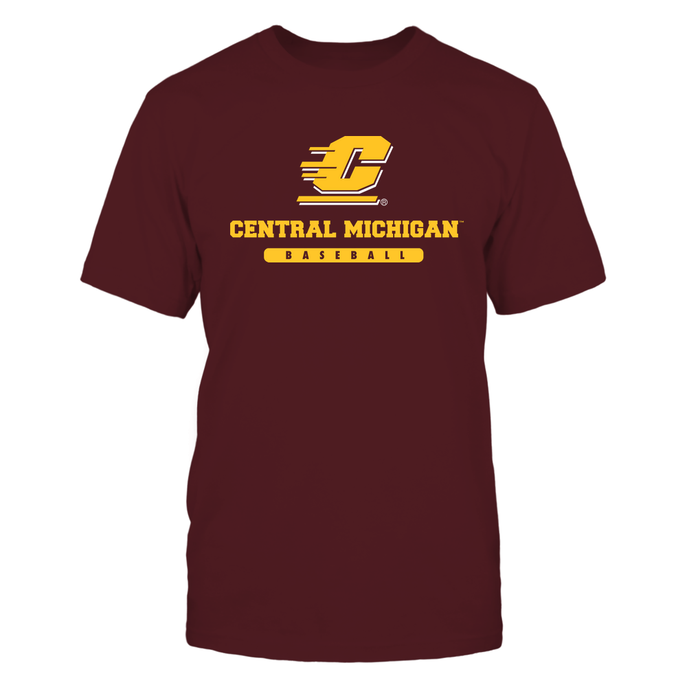 Central Michigan Chippewas - School - Logo - Baseball Front picture