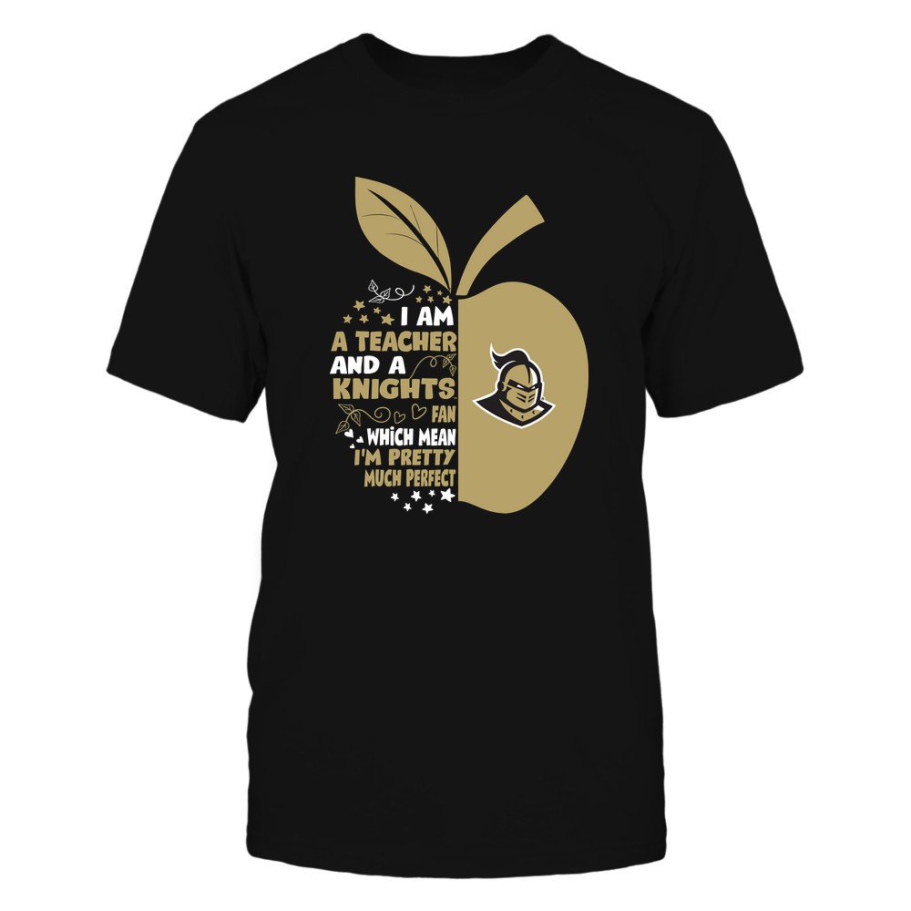 UCF Knights - Perfect Teacher - Half Apple - IF32-IC32-DS27 Front picture