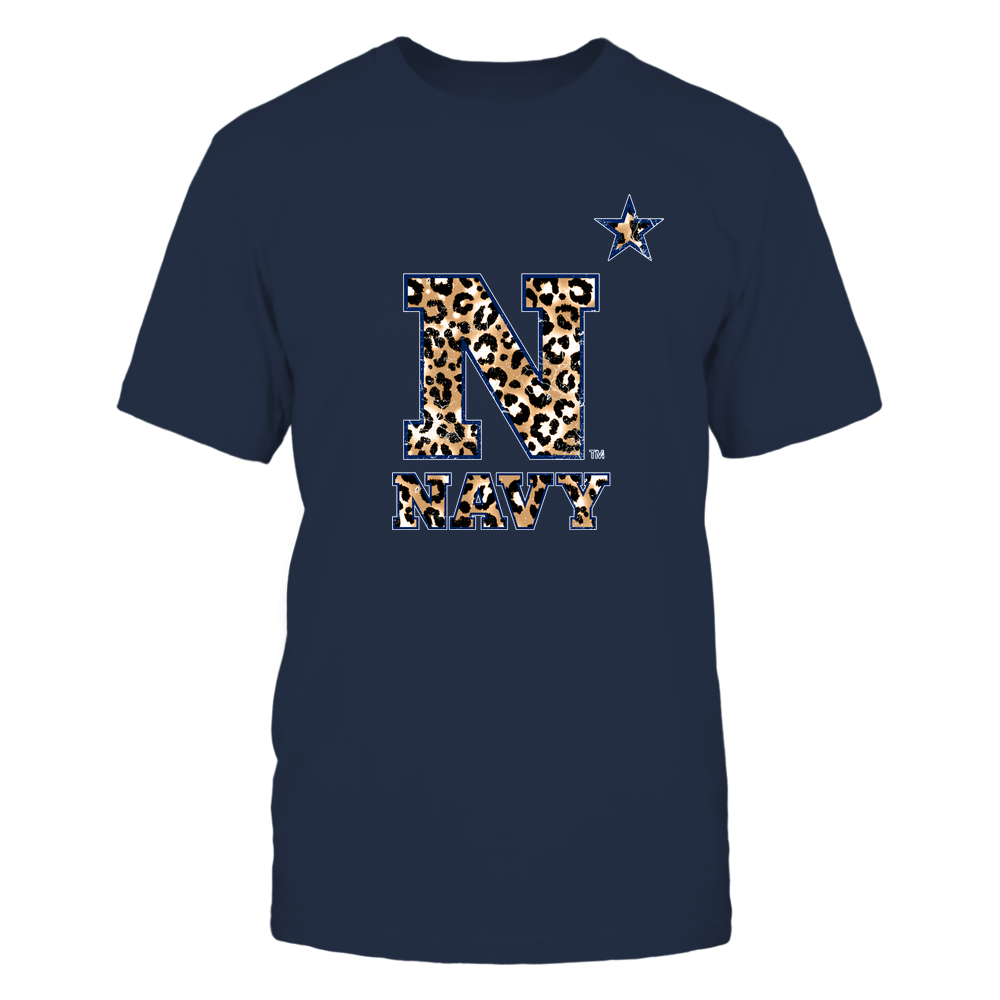 Navy Midshipmen - Leopard Logo Ver 2 - IF17-IC17-DS27 Front picture