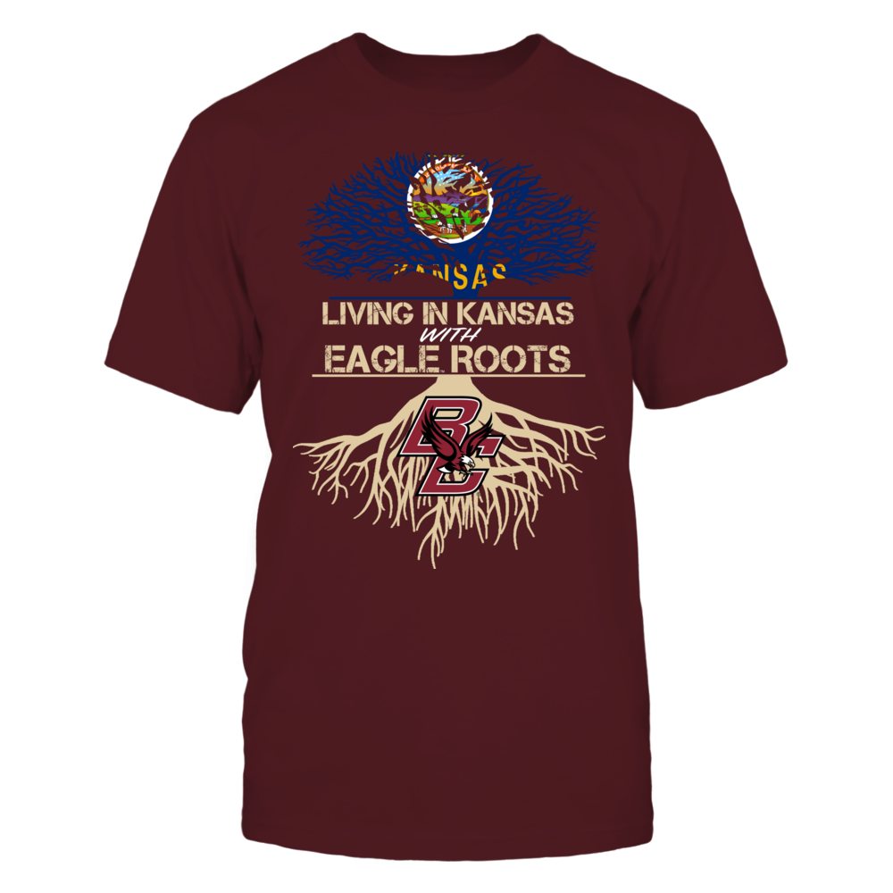 Boston College Eagles - Living Roots Kansas Front picture