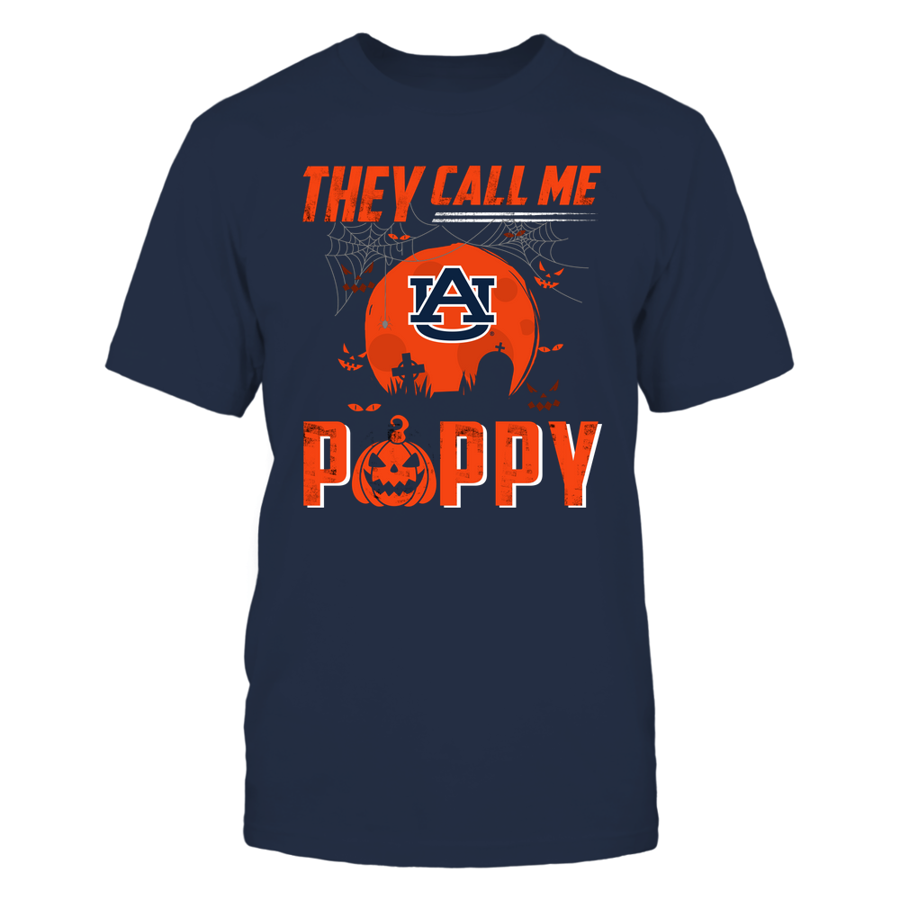 Auburn Tigers - They Call Me Poppy - Halloween Pumpkin Front picture