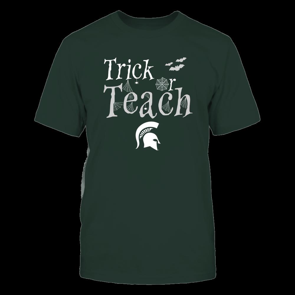 Michigan State Spartans - Teacher Halloween - Trick Or Teach - Team Front picture