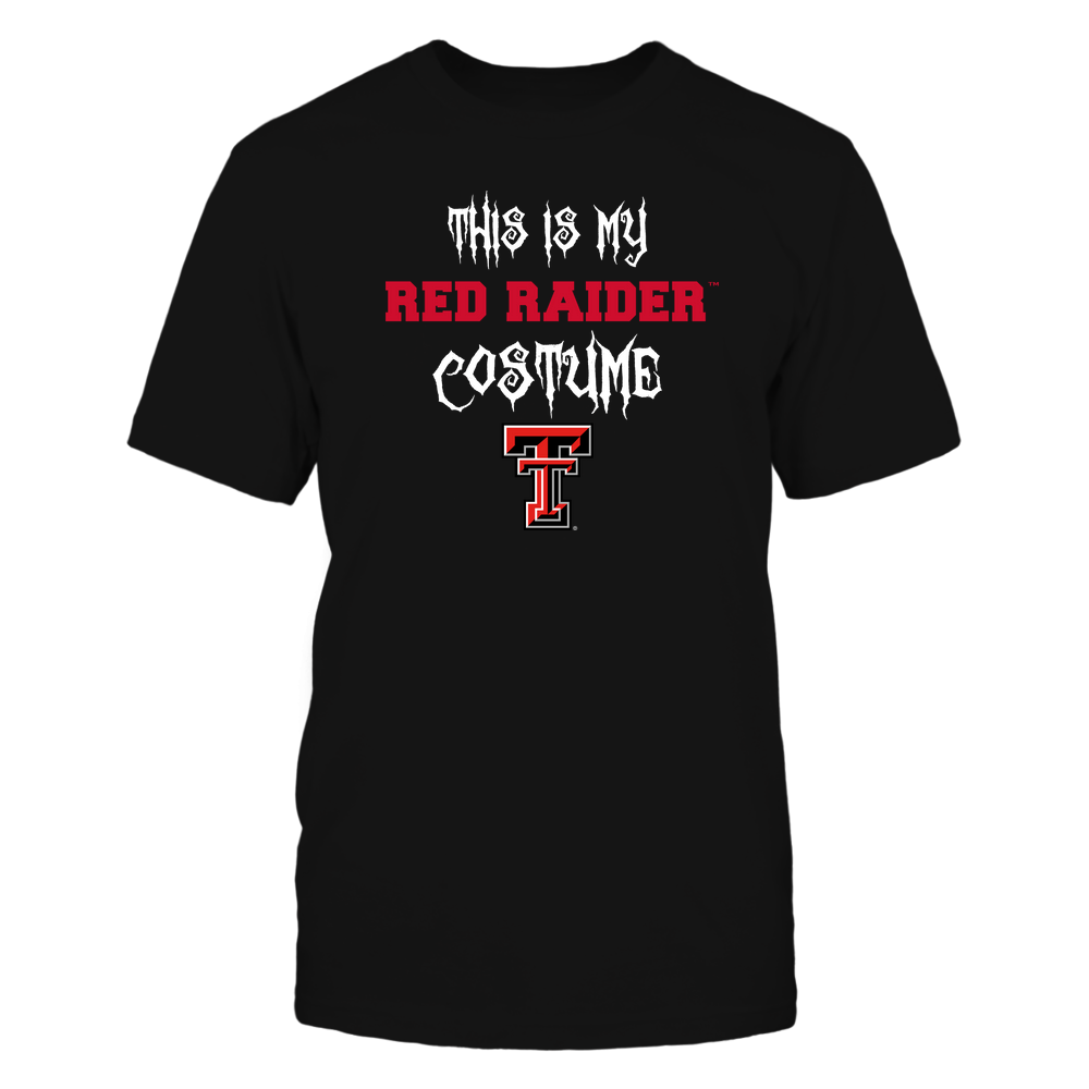 Texas Tech Red Raiders - This Is My Halloween Costume - Mascot - Team Front picture