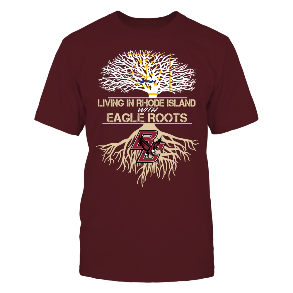 Boston College Eagles - Living Roots Rhode Island Front picture