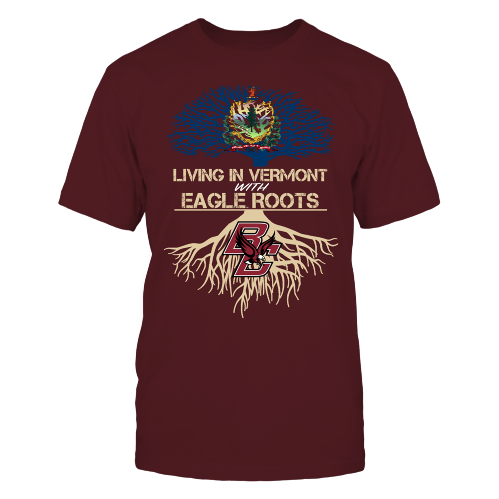 Boston College Eagles - Living Roots Vermont Front picture