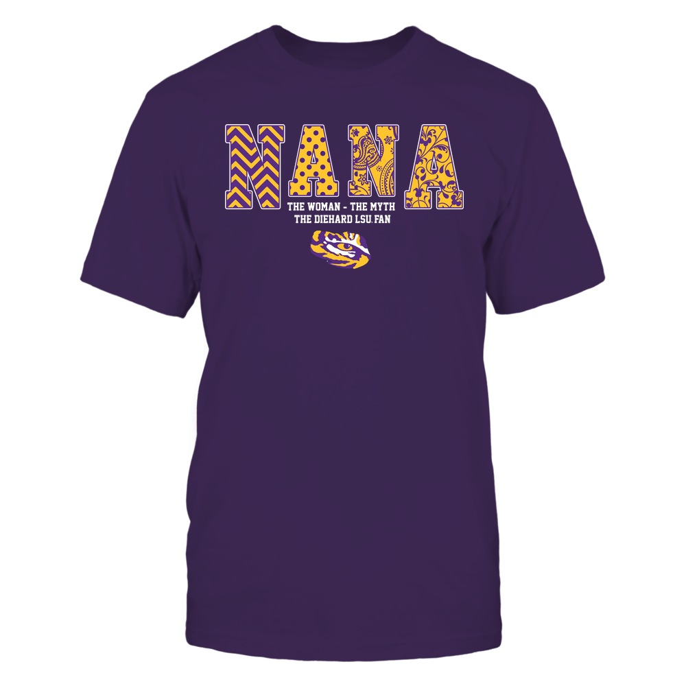 LSU Tigers - Nana-The-Legend-Slogan-Pattern-IF17-IC17-DS29 Front picture
