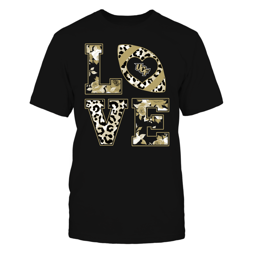 UCF Knights - Stacked Love - Leopard And Rose - Team Front picture