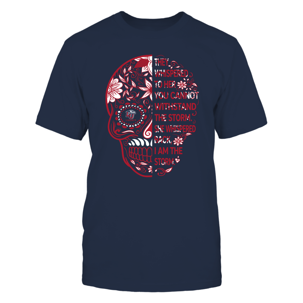 Liberty Flames - 19092310107-Half Sugar Skull - I Am The Storm - APCX - IF13-IC13-DS27 Front picture