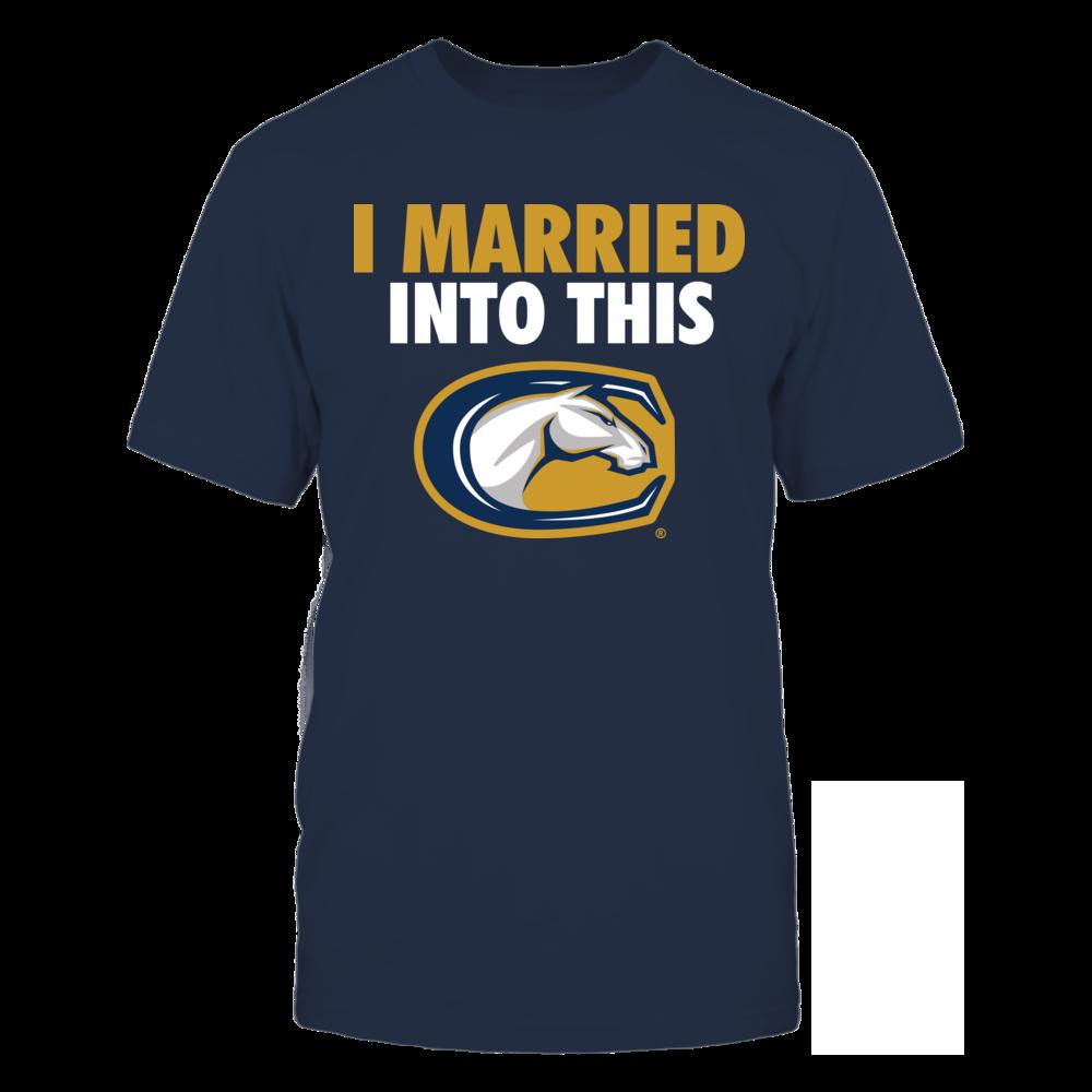 UC Davis Aggies UC Davis Aggies - I Married Into This FanPrint