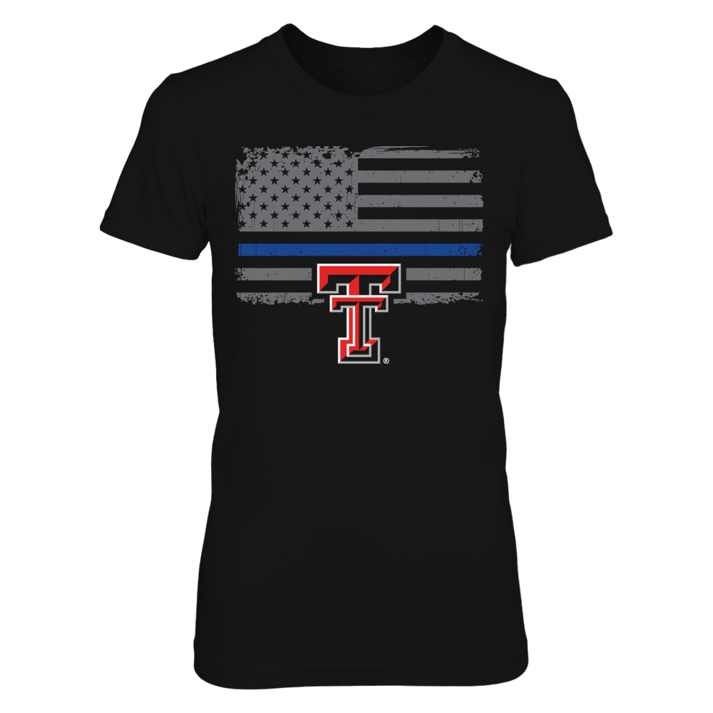 Texas Tech Red Raiders - Thin Blue Line Front picture