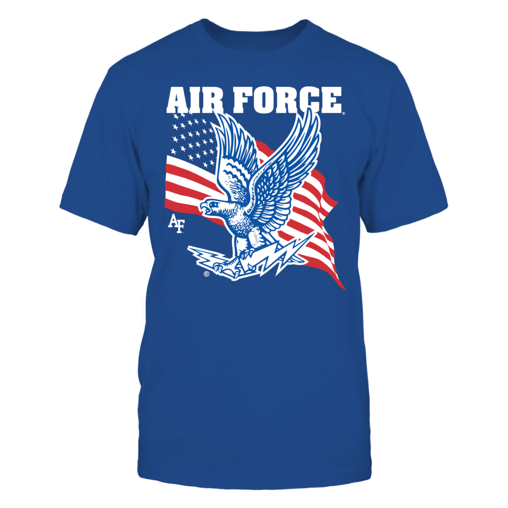 Air Force Falcons - Logo with Flag Front picture