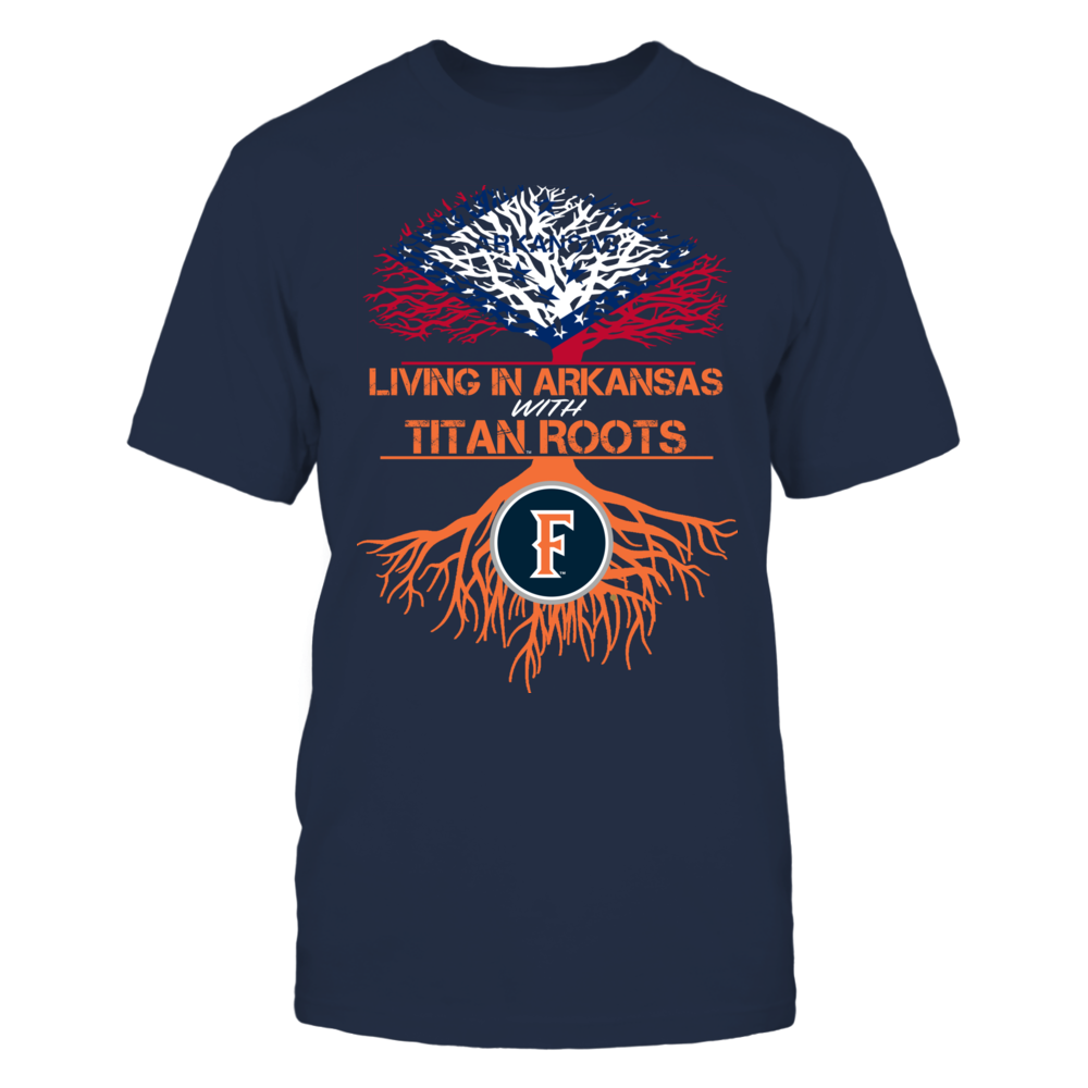 Cal State Fullerton Titans- Living Roots Arkansas Front picture