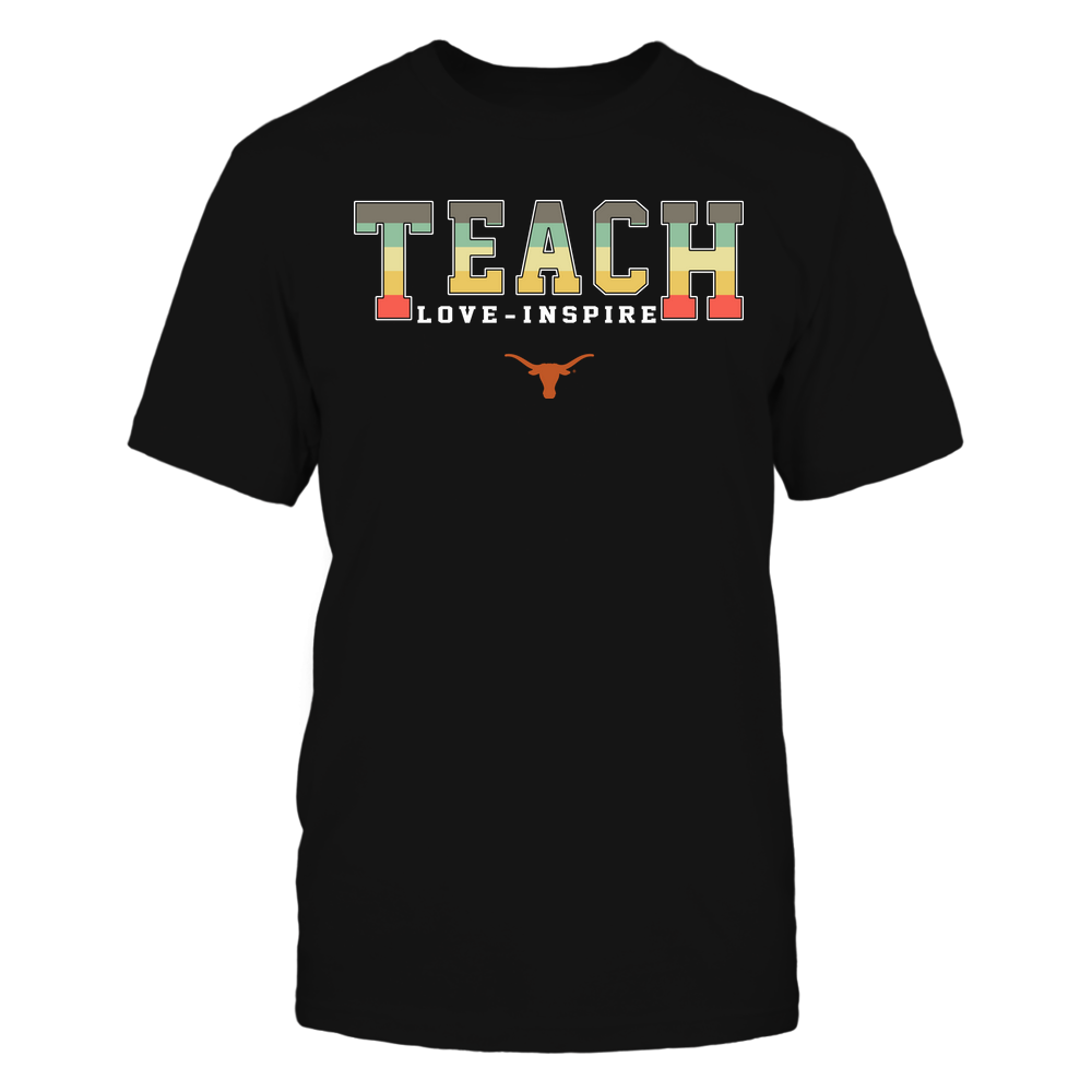 Texas Longhorns - Teach Love Inspire - Vintage - Team Front picture