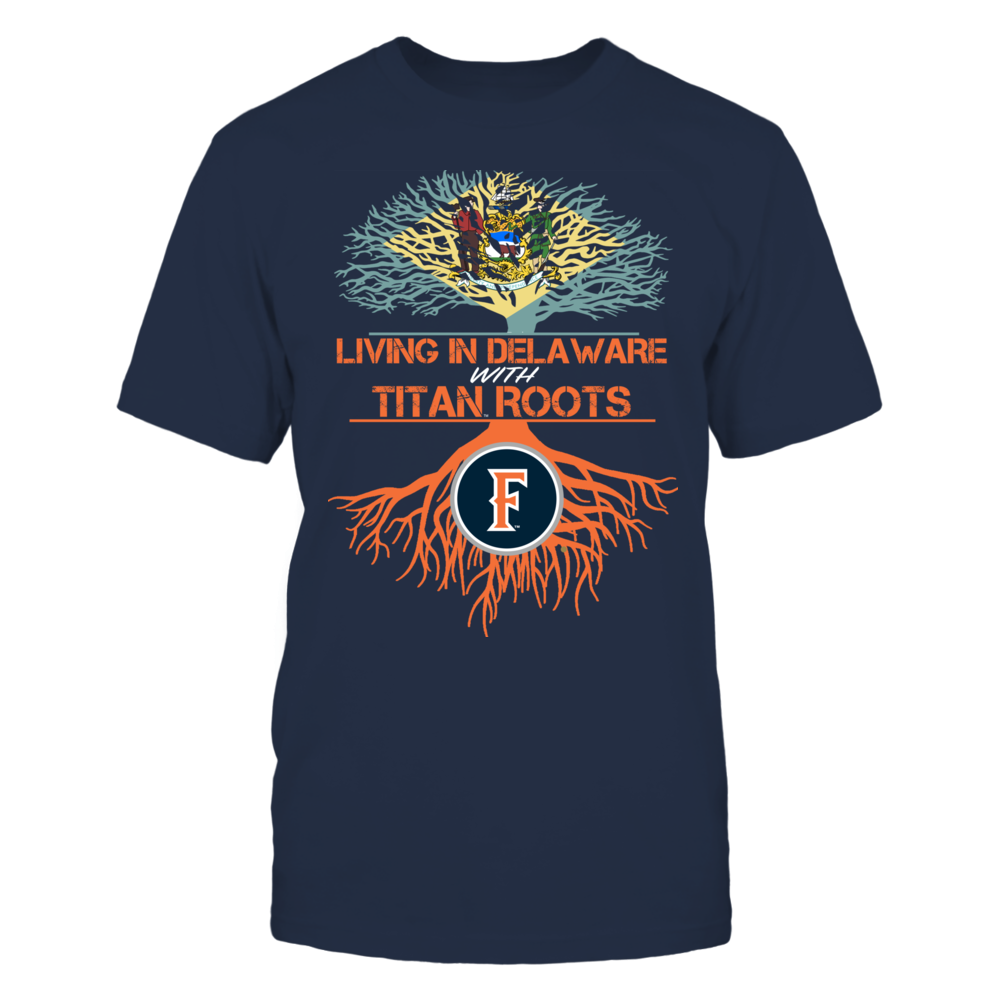 Cal State Fullerton Titans- Living Roots Delaware Front picture