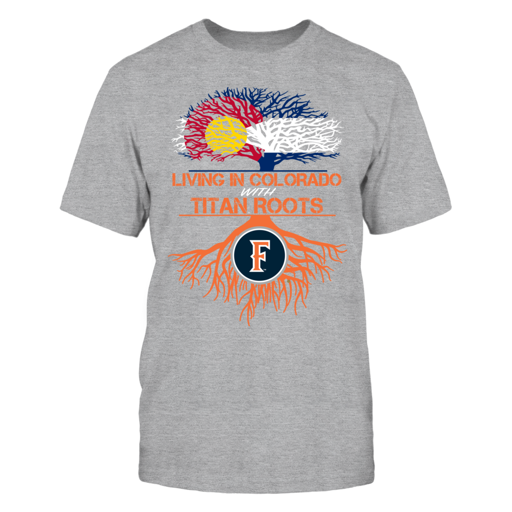 Cal State Fullerton Titans- Living Roots Colorado Front picture