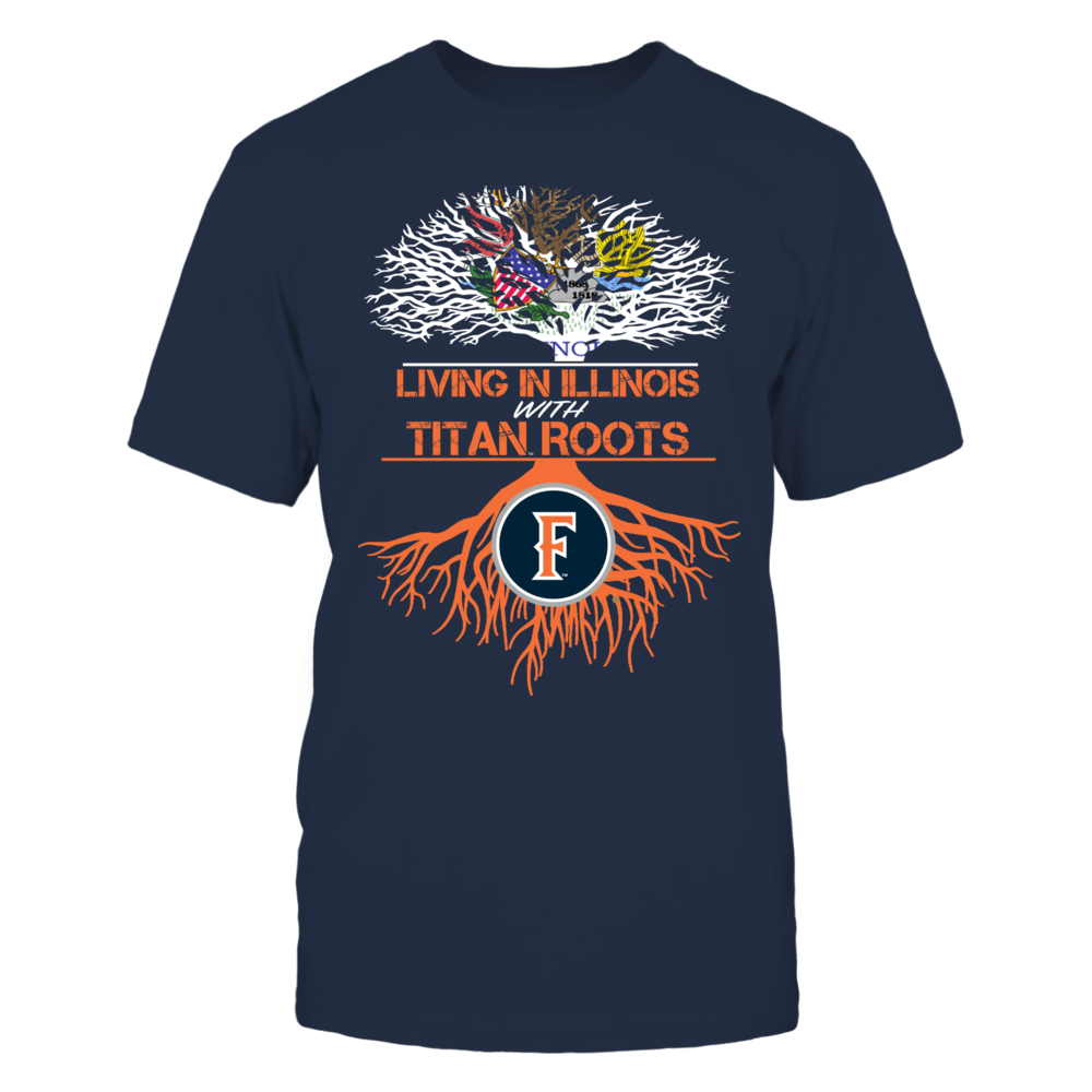 Cal State Fullerton Titans- Living Roots Illinois Front picture