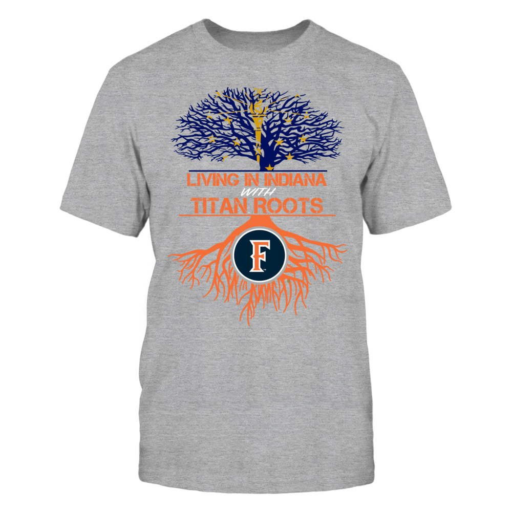 Cal State Fullerton Titans- Living Roots Indiana Front picture