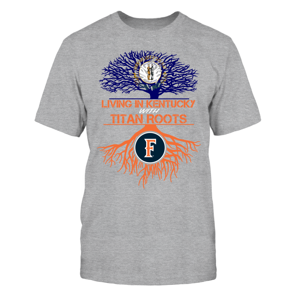 Cal State Fullerton Titans- Living Roots Kentucky Front picture
