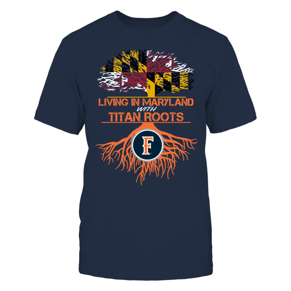 Cal State Fullerton Titans- Living Roots Maryland Front picture