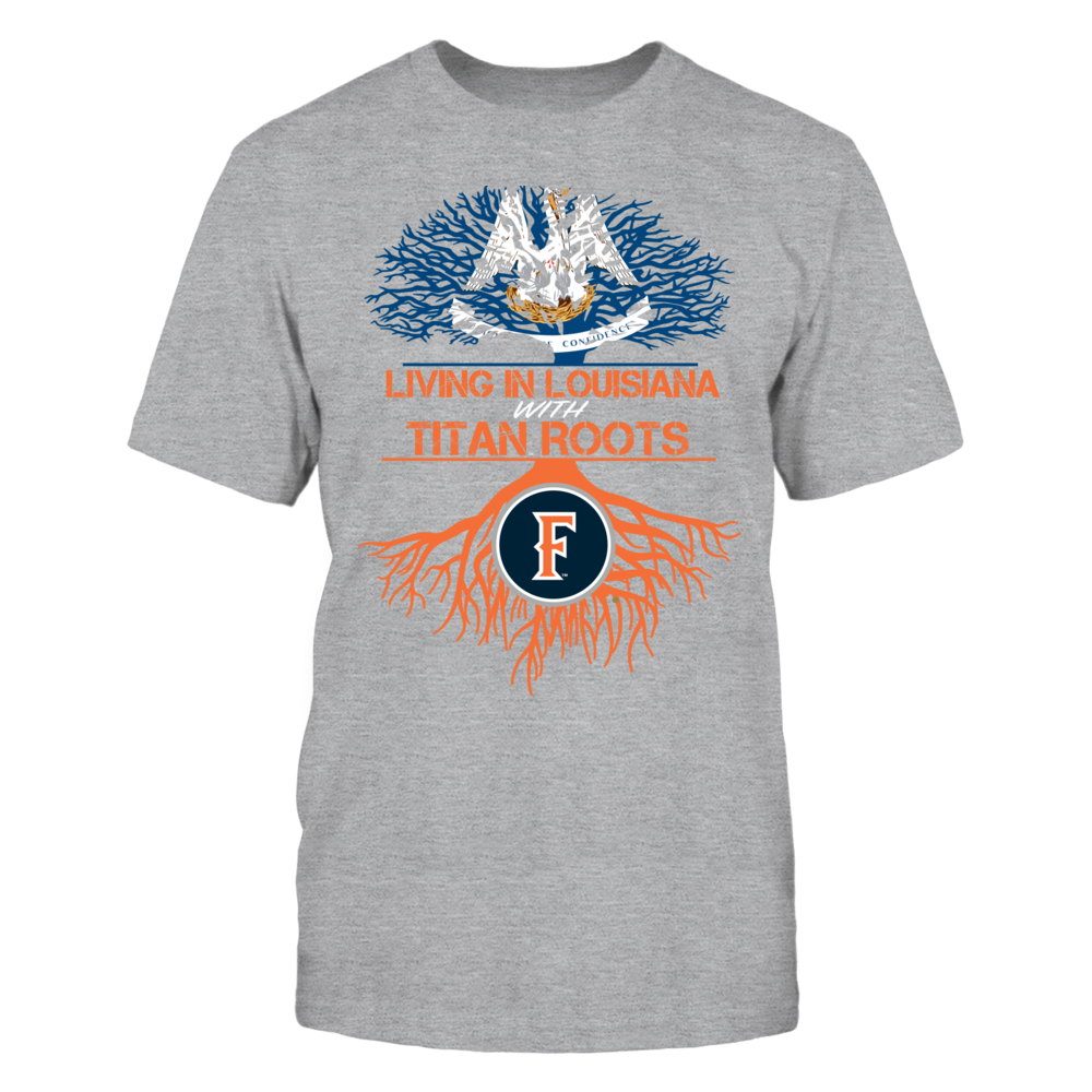 Cal State Fullerton Titans- Living Roots Louisiana Front picture