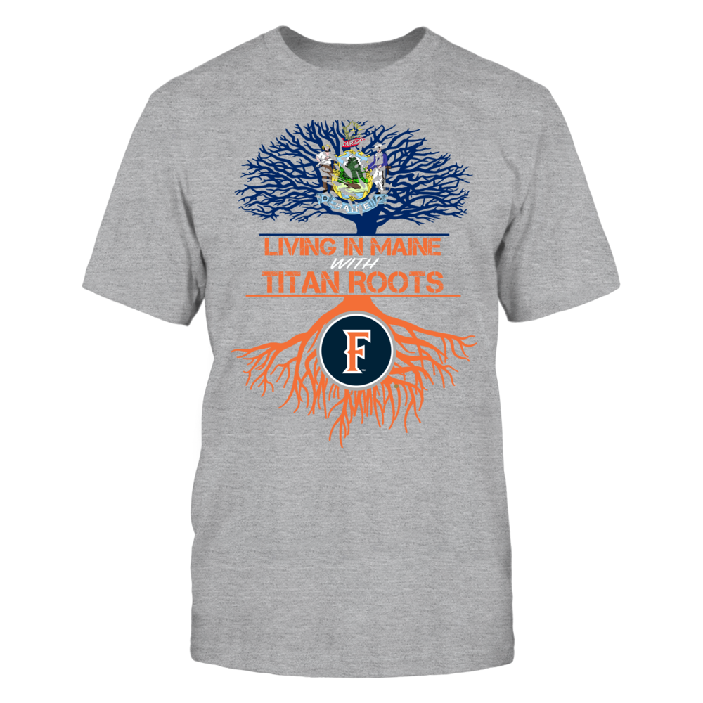 Cal State Fullerton Titans- Living Roots Maine Front picture