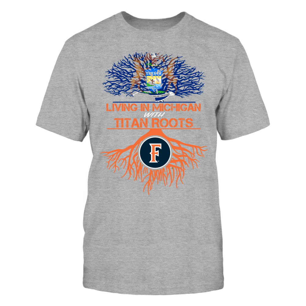 Cal State Fullerton Titans- Living Roots Michigan Front picture