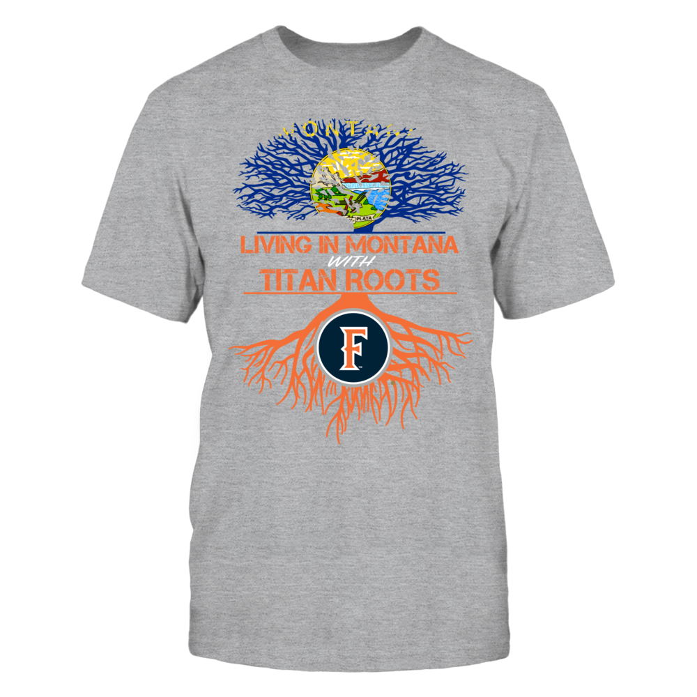 Cal State Fullerton Titans- Living Roots Montana Front picture