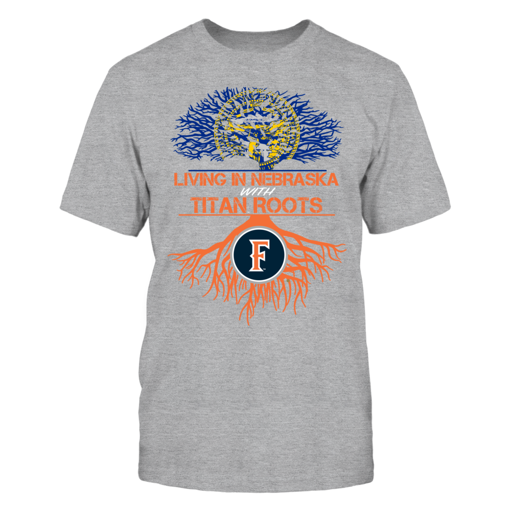 Cal State Fullerton Titans- Living Roots Nebraska Front picture