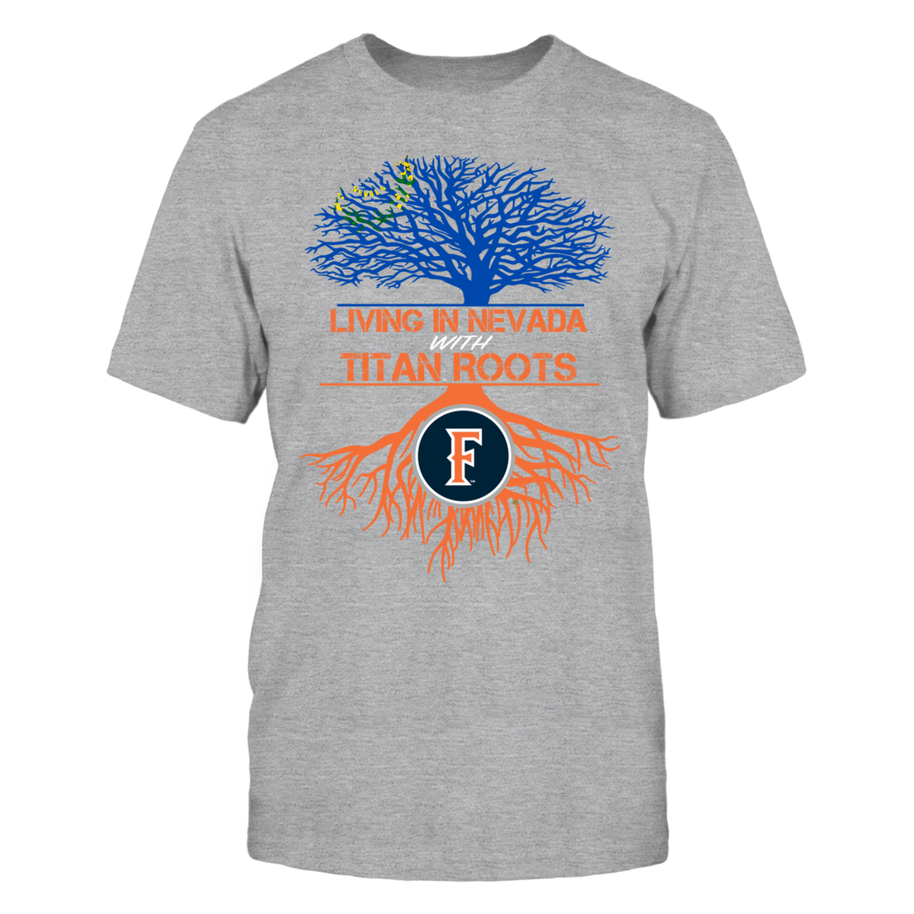 Cal State Fullerton Titans- Living Roots Nevada Front picture