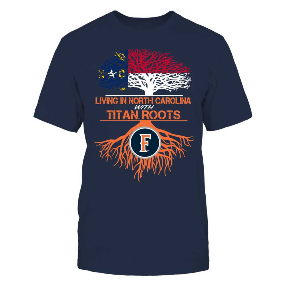 Cal State Fullerton Titans- Living Roots North Carolina Front picture