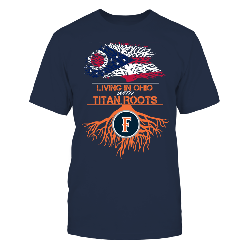 Cal State Fullerton Titans- Living Roots Ohio Front picture