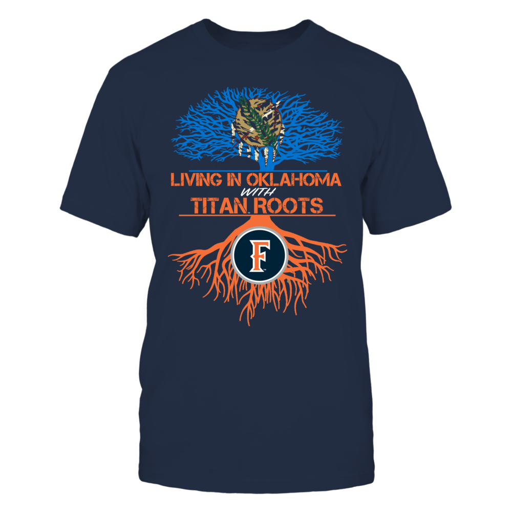 Cal State Fullerton Titans- Living Roots Oklahoma Front picture
