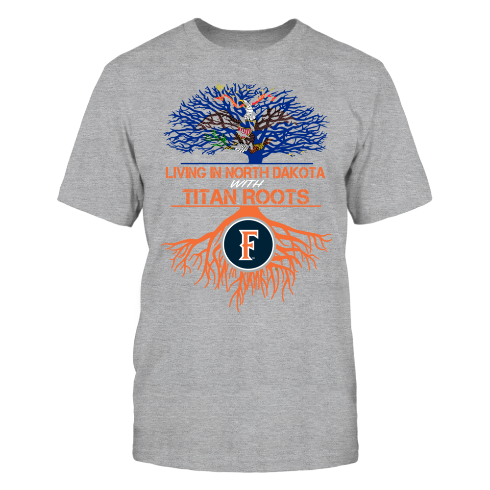 Cal State Fullerton Titans- Living Roots North Dakota Front picture