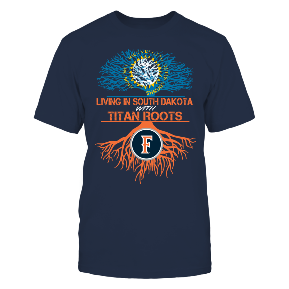 Cal State Fullerton Titans- Living Roots South Dakota Front picture