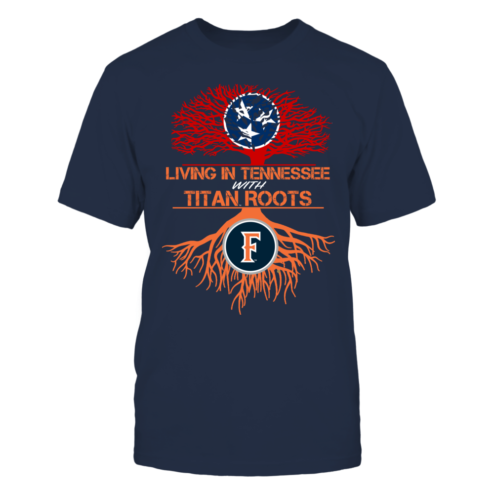 Cal State Fullerton Titans- Living Roots Tennessee Front picture